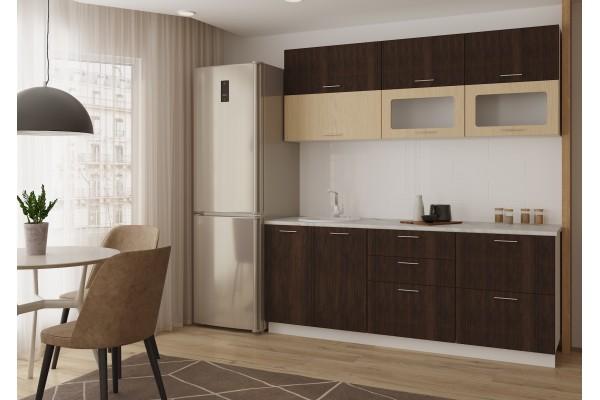 Кухня линейная Артем-Мебель Яна
