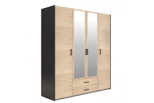 Шкаф комбинированный Евва Венеция ВН-4D2Z2S