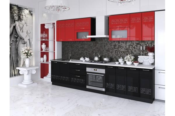 Кухня прямая Артем-Мебель Адель Эллада