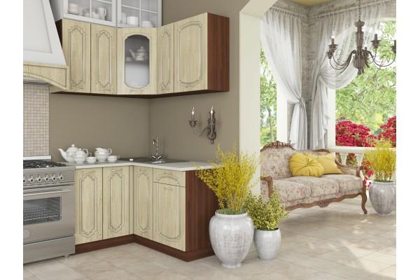 Кухня угловая Артем-Мебель Жасмин Адамант