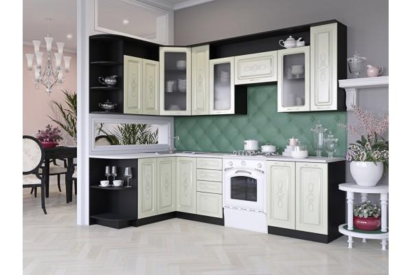 Кухня угловая Артем-Мебель Виола Идиллия