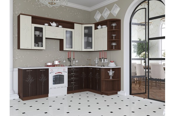 Кухня угловая Артем-Мебель Виола Каприз