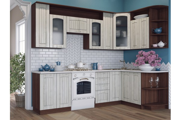 Кухня угловая Артем-Мебель Виола Элит
