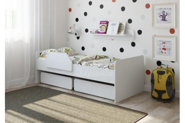 Кровать Легенда 27.1 белая